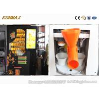 Wholesale Automated Fresh Orange Juice Vending Machine With Ozone Sterilization System from china suppliers