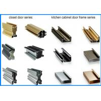 China Kitchen Cabinet Door Frame Aluminium Extrusion Profiles on sale