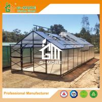 Wholesale Aluminum Greenhouse-Titan series-1006X406X273CM-Green/Black Color-10mm thick PC from china suppliers