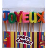 Wholesale Colorful Letter Candles (ZMC0040) from china suppliers