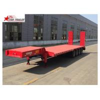 Wholesale Customized Color Extendable Flatbed Trailer With Manual Or Hydraulic Ladder from china suppliers