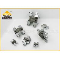 Wholesale Commercial Satin Chrome Plate Concealed Hinges For Interior Doors / Cupboard from china suppliers