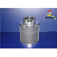 Stainless Steel Grow Room Carbon Filter Round For Greenhouse Ventilation