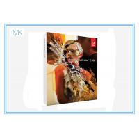 Wholesale Original  Illustrator adobe creative suite 6 master collection Design Standard from china suppliers