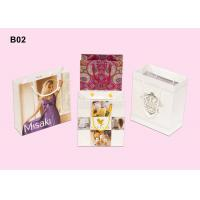 Wholesale Custom Paper Carrier Bags With PP / Cotton String, Artpaper Personalised Shopping Bag from china suppliers