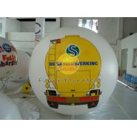 Wholesale White PVC Large Printed Helium Balloons with UV protected printing for Opening event from china suppliers