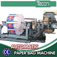 Custom Multi function Cement Paper Bag Making Machine High Efficiency for sale
