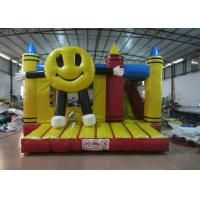 China Big inflatable smiling face combo inflatable happy face crayon combos PVC inflatable combo for sale