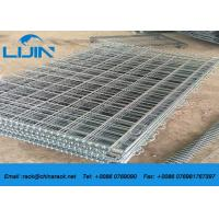 Warehouse stackable Detachable Steel Wire Mesh Cages with 50*50 Griding