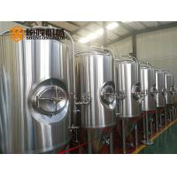 Wholesale 600 L Bright Polished Beer Fermentation Tanks , Large Conical Fermenter from china suppliers