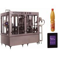 Wholesale Stainless Steel Beverage Filling Machine 150 ML - 5000 ML Capacity With PVC Plastic Bottle from china suppliers