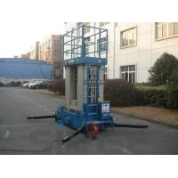 Wholesale Four Mast Blue Hydraulic Lift Ladder Electric Motor With 12 m Platform Height from china suppliers