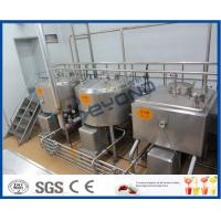 Wholesale 5000L/H Milk Production Plant /Beverage Processing Equipment With Bottle Package from china suppliers