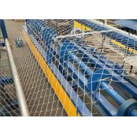 Quality Low Noise Chain Link Fence Weaving Machine High Working Efficiency for sale