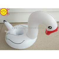 Best White Pool Float Mini Swan Cup Holders With Red Mouth wholesale