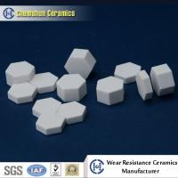 Best China Manufacturer Supplied Alumina Ceramic Hexagonal Sheet as Wear Resistant Liners wholesale