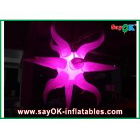 Wholesale Dia 1m - 3m Nylon Oxford Inflatable Lighting Decoration Pink For Party from china suppliers