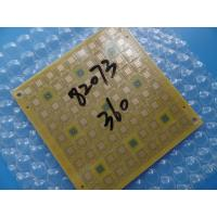 Best Yellow Mask 0.6mm Via In Pad PCB 6 Layer For Bluetooth Transmitter wholesale