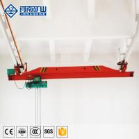 China Light Duty Single Girder Overhead Crane Low Voltage Protection For Building Construction on sale