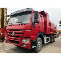 Wholesale 30 Ton 6*4 Sinotruk Howo Used Dump Truck , Second Hand Tipper Truck For Construction from china suppliers