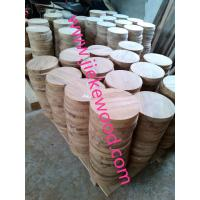 Wholesale sell walnut  round table from china suppliers