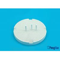 Quality Ceramic / Porcelain Honeycomb Firing Tray Round Shape For Dental Laboratory for sale