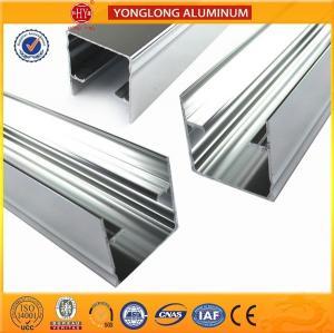 China Mechanically Polished Aluminum Profiles High Surface Brightness Black on sale