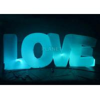Wholesale Wedding Inflatable Lighting Decoration Love Led Letter Balloon For Stage from china suppliers