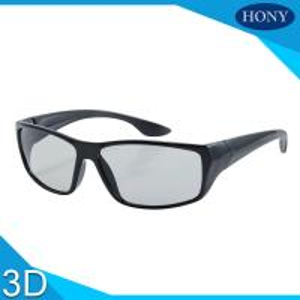 Best PC Plastic Polarized Circular Passive 3D Glasses For Movies wholesale
