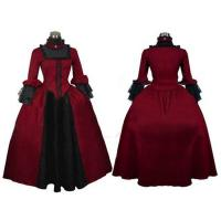 Wholesale Medieval Dress Wholesale XXS to XXXL Cosplaydiy Renaissance Medieval Victorian Gothic Gown Ball Dress Cosplay from china suppliers