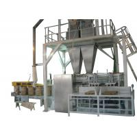 Open Mouth Bag Filling Machines For Animal Pet Food Packaging With Double Heads