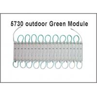 China Green led channel letters 5730 modules led 3 light 12V Pixel modules on sale