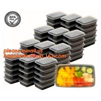 Wholesale Food grade plastic disposable plastic take away bento box with 4 compartment,Containers Plastic Leakproof Food Container from china suppliers