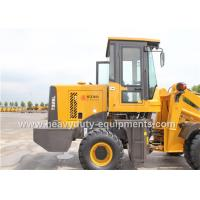 T926L Small Wheel Loader With Air Condition Quick Hitch And Attachments