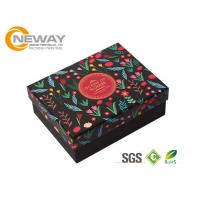 Wholesale Colorful 210gsm 250gram Ivory Board Gift Flower Paper Box With Clear Lids from china suppliers
