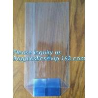 Wholesale Market stalls moisture proof square bottom sweets cello bagStand Up Clear Cello Opp Candy/Toy Bopp Square Bottom Bag from china suppliers