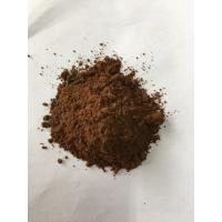 Wholesale Dark Brown Natural Cocoa Powder / Alkalized Cocoa Powder PH Value 6.2-7.6 from china suppliers