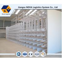 Wholesale Heavy Duty Cantilever Storage Racks with Single / Double Side Storage from china suppliers