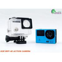 Quality Waterproof Sports Action Video Camera H3R , Dual Screen 4k Ultra Hd Action Camera  for sale