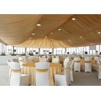 500 People Big Outdoor Clear Roof Marquee Party Tent For Wedding Reception