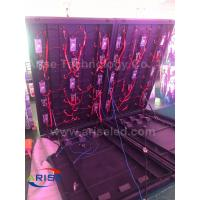 Wholesale outdoor front-door service LED display p6 P10 Double face LED Freestanding Cabinet Sreen from china suppliers