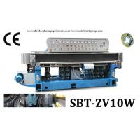 Wholesale 10 Spindles Straight-Line Glass Edging Machine With Digital Display And PLC Control from china suppliers