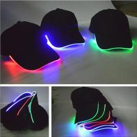 Buy cheap New Adult Cotton Black Shining LED Light Baseball Cap Stage Hats Adjustable Bone from wholesalers