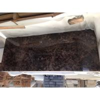 Chinese Dark Emperador Marble Brown Marble Slabs For Interior for sale