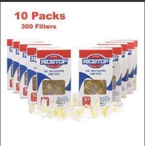 Plastic Cigarette Filter With Fix 34mm Cigarette Tar Filter Holder
