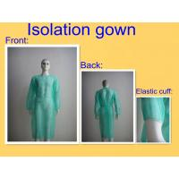 Wholesale Round Neck Sterile Surgical Gowns , Hospital Isolation Gowns Medical Product from china suppliers
