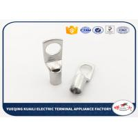 Wholesale Crimp Terminal Tin Plated Battery Cable Lugs Terminals / Tin Plated Copper Lugs from china suppliers