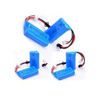 Buy cheap 2S1P 7.4 V 650mah Battery / 14500 Rechargeable Battery With PCM , 12 Months from wholesalers