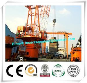 Best Shipyard H Beam Welding Line Anti Explosion Marine Wire Platform Crane wholesale