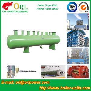 Best Diesel Water Heat Boiler Steam Drum Thermal Insulation SGS Certification wholesale